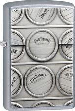 Zippo Lighter Jack Daniels Surprise Street Chrome 07681
