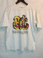 Vintage Art Festival 1993 Laguna Beach T-Shirt Mens L Crazy Shirt Hawaii USA