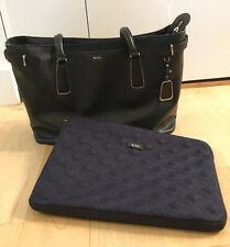 TUMI Sinclair Viera Black Business Briefcase Women's Tote Bag 79386D w/comp case