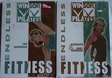 2 Winsor Pilates Endless Fitness workout DVD lot for beginners strength mari