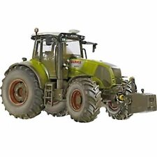 Wiking - DIRTY MUDDY Claas Axion 850 - Die-Cast Model Tractor Toy 1:32 Scale
