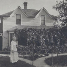 1920s Cabinet Photo Minot Nd Martha Stewart Hager Residence @ 74 Years Old