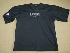 Vgc Vintage Nike Georgetown Hoyas basketball warm-up shooting shirt mens M-L-Xl