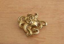 Art Nouveau 14k brooch pin