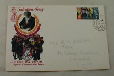The Salvation Army First D 00004000 ay Cover Vintage Fdc 1965 Canada