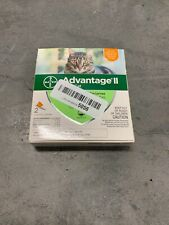 Bayer Advantage II Flea Prevention for Cats 2 doses 5-9 lb