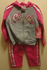 Brand New Girl's Diva Zip Up Cutie Jacket & Pants Outfit Set 24 months