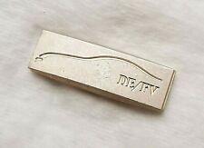 Seltener Mercedes Benz Pin (Muster) Silhouette Designbereich DE/FV silbermatt