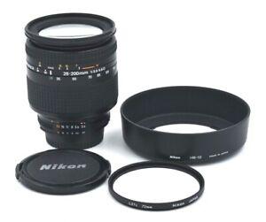 Nikon AF NIKKOR 28-200mm 1:3.5-5.6 D, HB-12 Lens Hood, Nikon L37c 72mm Filter
