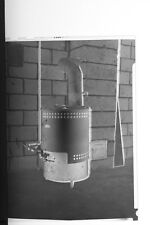 (1) B&W Press Photo Negative Vintage Duo Therm Oil Heater -T3030