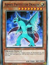 YU-GI-OH - 2x Armed Protector Dragon-sr02-Structure Deck Rise of the True