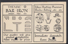 Advertising Postcard- Themac Bar Iron, Metal Agencies Co, Queen Sq, Bristol T456