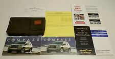 2007 JEEP COMPASS OWNERS MANUAL USER GUIDE SPORT LIMITED V4  2.0L 2.4L AWD 2WD