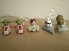 Trabajo Lote Paquete De Kinder Huevo Sorpresa Figuras De Star Wars