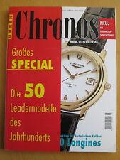 CHRONOS Nr. 3 2001 - Uhren Zeitschrift, Uhrenheft, Magazin