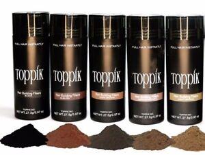 Dark Brown Medium Brown Black 27.5g Toppik Buy 5 Or More Free Priority Shipping