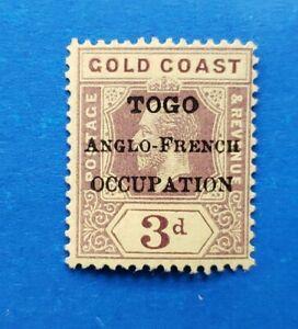 Togo Stamp, Scott 84 MLH