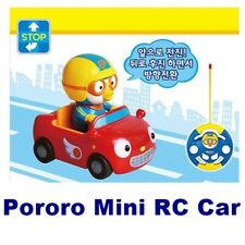 [Pororo] Mini Remote Control Car Wireless RC Toy Set Kids Gift