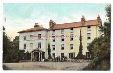 Wales Beddgelert Royal Goat Hotel Vintage Postcard 1.10