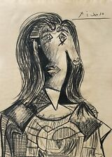 Special Pablo Picasso drawing, signed, cubism