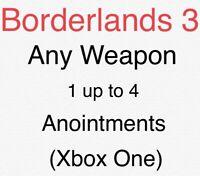 Borderlands 3 Custom Legit Weapon (Mayhem 10) (Lvl 60) (Xbox One)(Pc)