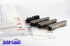 Marklin 2865 H0 AC, Tren completo con locomotora de vapor BR 75 (DRG)