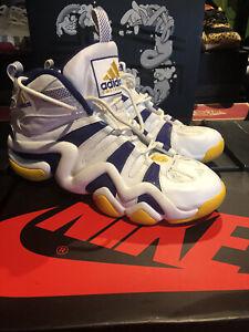 Adidas Crazy 8 Kobe Bryant PE Lakers White Purple Sunshine 467967 Size 11 2006