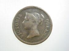 Straits Settlements 1/4 Cent 1845 Malaysia Singapore British 08# Money Coin