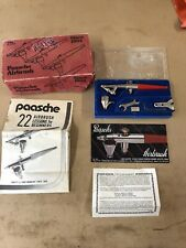 Paasche Airbrush Kit Made In USA With Original Box Pre Owned Vintage