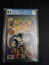 Moon Knight #1 CGC 4.5 White Pages UNPRESSED!! 1st solo series Disney+