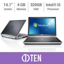"Laptop Dell Latitude E6430 E6420 14"" i5 3.20 GHz 4 GB RAM 320 GB HDD SSD Win 7 Pro"
