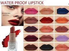 PHOERA Waterproof Long Lasting Moisturizing Velvet Matte Fog Surface Lipstick