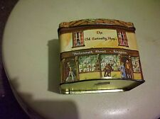 """Vintage """"This Old Curiosity Shop"""" Collectible Tin (Made In The U.K.)"""