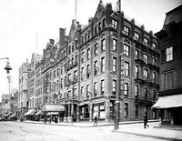 """1900-1906 Kenmore Hotel, Albany, New York Vintage Photograph 8.5"""" x 11"""" Reprint"""