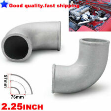 "2.25"" INCH 57mm Cast Aluminium Elbow Pipe 90 Degree Intercooler Turbo Tight Bend"