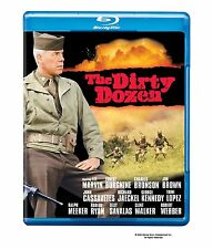 THE DIRTY DOZEN (Lee Marvin)  -  Blu Ray - Sealed Region free for UK