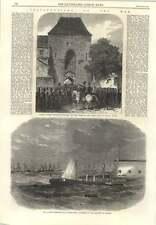 1866 Italian Ironclad Ram Affondatore Foundering Ancona Austrians Enter Haimburg