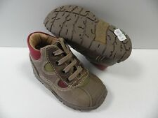 Chaussures NOEL mini fred marron GARCON taille 19 enfant shoes boy child NEUF