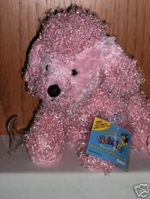 Webkinz Brand New w/ Sealed Tag Code -Curly Pink Poodle