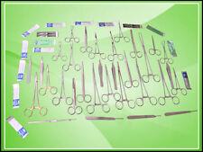 Sutura Kit, Set,sutura Pack, Veterinario 44 Piezas Instrumentos Quirúrgicos