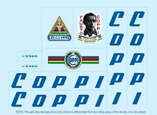 Coppi Bicycle Decals-Transfers-Stickers #2