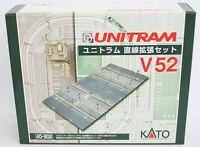 Kato 40-802 UNITRAM Expansion Straight Track Set V52 (N scale)
