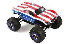 Custom Body USA Flag for Traxxas Summit / Slash 1/10 Truck Car Cover Shell