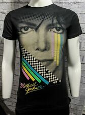 Rare Michael Jackson Racing Stripes Black Shirt - Girls Xl - New