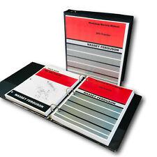 Massey Ferguson 285 Tractor Service Parts Manual Repair Shop Set Catalog Book Mf