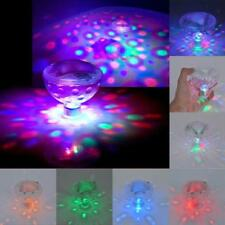 Underwater LED Floating Disco Light Glow Show Swimming Pool Hot Tub Spa Lamp  MT