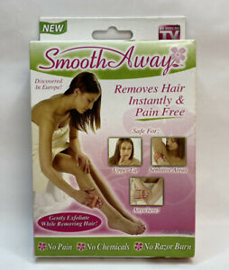 Smooth Away Hair Removal Kit - Removes Hair Instantly & Pain Free As Seen On TV