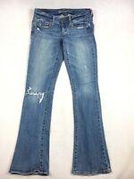 American Eagle AEO Skinny Kick Stretch Denim Blue Jeans - Women's Size 4