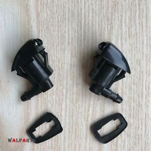 2X Windshield Washer Nozzle Front Fit ENCLAVE TRAVERSE CONCORDE INTREPID ACADIA