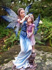 15386  FIGURINE  STATUETTE FEE  ELFE    FAIRY   ET ENFANT    HEROIC  FANTASY